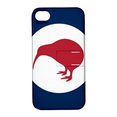 Roundel Of New Zealand Air Force Apple iPhone 4/4S Hardshell Case with Stand