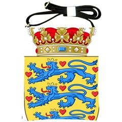 National Coat Of Arms Of Denmark Shoulder Sling Bags