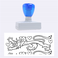 National Coat Of Arms Of Denmark Rubber Stamps (Large)