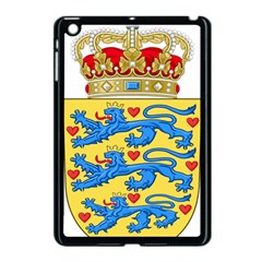 National Coat Of Arms Of Denmark Apple iPad Mini Case (Black)