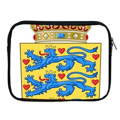 National Coat Of Arms Of Denmark Apple iPad 2/3/4 Zipper Cases
