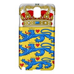 National Coat Of Arms Of Denmark Samsung Galaxy Note 3 N9005 Hardshell Case