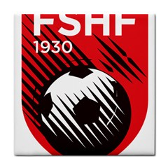 Crest Of The Albanian National Football Team Tile Coasters