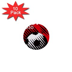 Crest Of The Albanian National Football Team 1  Mini Buttons (10 Pack)