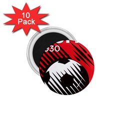 Crest Of The Albanian National Football Team 1 75  Magnets (10 Pack)