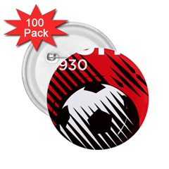 Crest Of The Albanian National Football Team 2 25  Buttons (100 Pack)