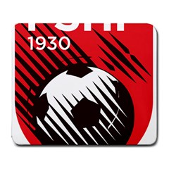 Crest Of The Albanian National Football Team Large Mousepads