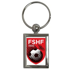 Crest Of The Albanian National Football Team Key Chains (rectangle)