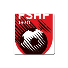 Crest Of The Albanian National Football Team Square Magnet