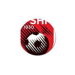 Crest Of The Albanian National Football Team Golf Ball Marker (4 Pack)