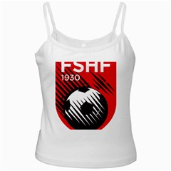 Crest Of The Albanian National Football Team Ladies Camisoles