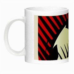 Crest Of The Albanian National Football Team Night Luminous Mugs