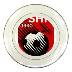 Crest Of The Albanian National Football Team Porcelain Plates