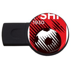 Crest Of The Albanian National Football Team Usb Flash Drive Round (4 Gb)