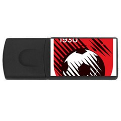 Crest Of The Albanian National Football Team Usb Flash Drive Rectangular (4 Gb)