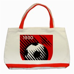 Crest Of The Albanian National Football Team Classic Tote Bag (red)