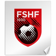 Crest Of The Albanian National Football Team Canvas 20  X 24
