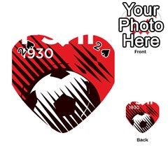 Crest Of The Albanian National Football Team Playing Cards 54 (heart)