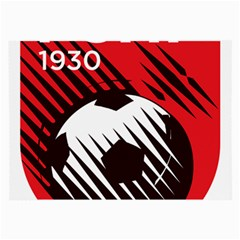 Crest Of The Albanian National Football Team Large Glasses Cloth (2 Side)