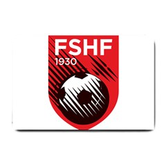 Crest Of The Albanian National Football Team Small Doormat