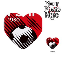 Crest Of The Albanian National Football Team Multi Purpose Cards (heart)