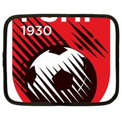 Crest Of The Albanian National Football Team Netbook Case (large)