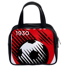 Crest Of The Albanian National Football Team Classic Handbags (2 Sides)