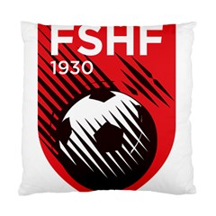Crest Of The Albanian National Football Team Standard Cushion Case (one Side)
