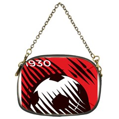 Crest Of The Albanian National Football Team Chain Purses (two Sides)