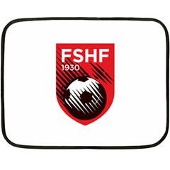 Crest Of The Albanian National Football Team Fleece Blanket (mini)