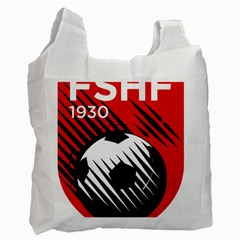 Crest Of The Albanian National Football Team Recycle Bag (two Side)