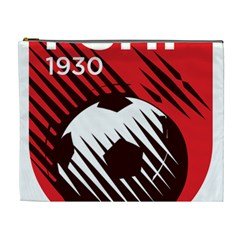 Crest Of The Albanian National Football Team Cosmetic Bag (xl)