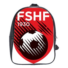 Crest Of The Albanian National Football Team School Bags(large)