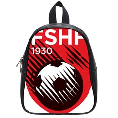 Crest Of The Albanian National Football Team School Bags (small)