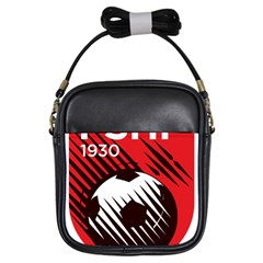 Crest Of The Albanian National Football Team Girls Sling Bags