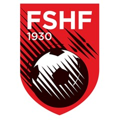 Crest Of The Albanian National Football Team 5 5  X 8 5  Notebooks