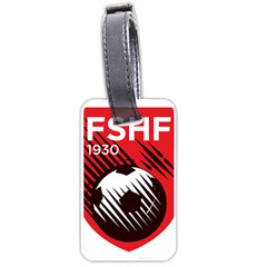 Crest Of The Albanian National Football Team Luggage Tags (one Side)