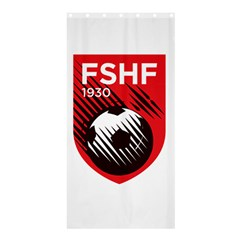 Crest Of The Albanian National Football Team Shower Curtain 36  X 72  (stall)