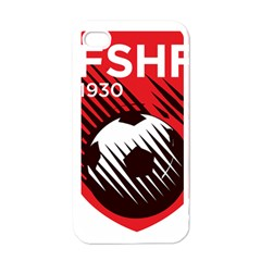 Crest Of The Albanian National Football Team Apple iPhone 4 Case (White)