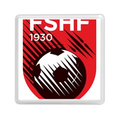 Crest Of The Albanian National Football Team Memory Card Reader (square)