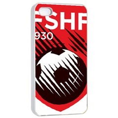 Crest Of The Albanian National Football Team Apple Iphone 4/4s Seamless Case (white)