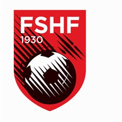 Crest Of The Albanian National Football Team Small Garden Flag (two Sides)