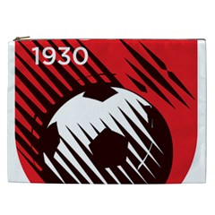 Crest Of The Albanian National Football Team Cosmetic Bag (xxl)