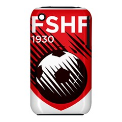 Crest Of The Albanian National Football Team Apple Iphone 3g/3gs Hardshell Case (pc+silicone)