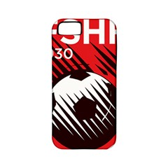 Crest Of The Albanian National Football Team Apple Iphone 5 Classic Hardshell Case (pc+silicone)