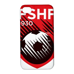 Crest Of The Albanian National Football Team Apple Iphone 4/4s Hardshell Case With Stand