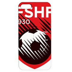 Crest Of The Albanian National Football Team Apple Iphone 5 Hardshell Case With Stand