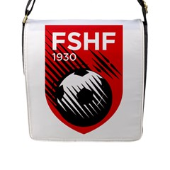 Crest Of The Albanian National Football Team Flap Messenger Bag (l)