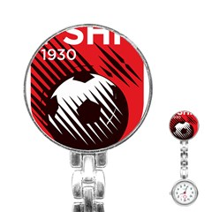 Crest Of The Albanian National Football Team Stainless Steel Nurses Watch