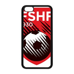 Crest Of The Albanian National Football Team Apple Iphone 5c Seamless Case (black)